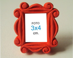 Kit Porta Retrato 3x4cm, Friends (50p�s)