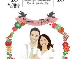 Arte Digital p/ convites: Casamentos etc