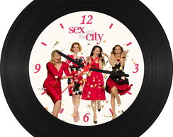 Rel�gio de Vinil - Sex And The City