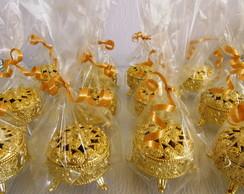 Porta-joia dourado Princesa & Proven�al