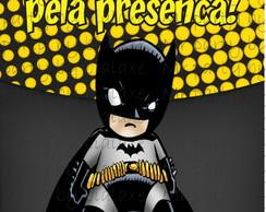 R�tulo Sacolinha Craft Batman