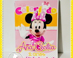 Revista Personalizada Minnie Mouse