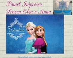 FROZEN Painel Impresso Festa Luxo Irm�s