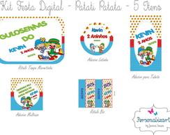 Kit Festa Digital -PATATI PATATA 5 itens