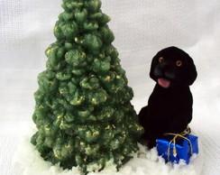 �rvore de Natal + Cachorro - vendida