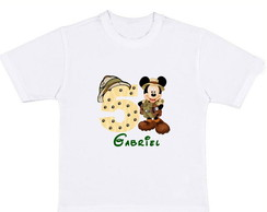 CAMISETA ANIVERS�RIO MICKEY SAFARI