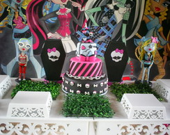 Bolo Falso Monster High