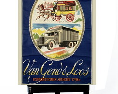* MINI POSTER - TRANSPORT VAN GENDS