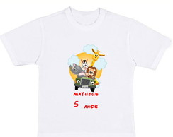 CAMISETA ANIVERS�RIO SAFARI