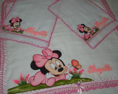 Kit de Fraldas dupla Minnie