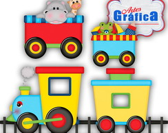 Trenzinho Bichinhos - Zoo - 134