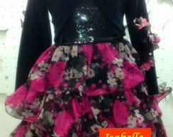 vestido de Festa Monster High