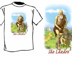 Camiseta Religiosa S�o L�zaro - JPRC 102