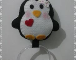 Porta pano de prato de pinguim