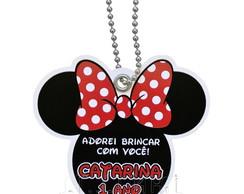Tag Personalizado Minnie (Recorte)