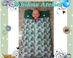 trocador de fraldas e saco de dormir