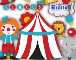 Circo Vermelho Azul Amarelo - 151