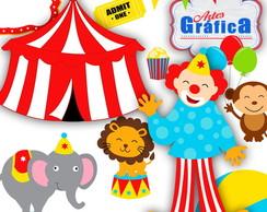 Circo Vermelho Azul Amarelo - 153