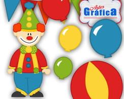 Circo Vermelho Azul Amarelo - 155