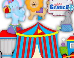 Circo Vermelho Azul Amarelo - 162