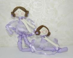 Boneca bailarina Articulavel Lil�s
