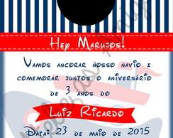 Convite Digital Festa Mickey Marinheiro