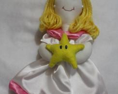 Boneca Princesa Peach M�rio Bross