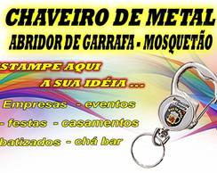 CHAVEIRO ABRIDOR DE GARRAFA C/ MOSQUET�O