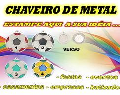 CHAVEIRO - METAL 1 ESTAMPA - BOLA