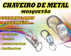 CHAVEIRO - METAL MOSQUET�O - 1 ESTAMPA
