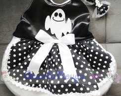 Vestido Fantasminha fofa