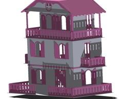Casa de Barbie em MDF - GG