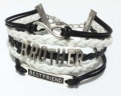 Pulseira Brother Best Friend Infinito