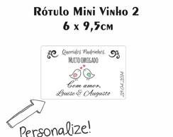 R�tulo Mini Vinho 2