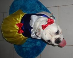 Fantasia De Cachorro Branca De Neve