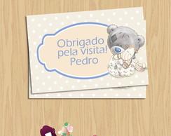 Cart�o tag lembrancinha nascimento