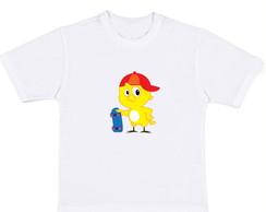Camiseta Pintinho Amarelinho