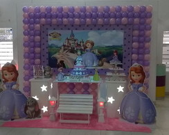 Decora��o Clean Princesinha Sofia