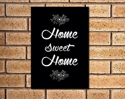 Placa Decorativa Home S. Home