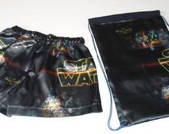 Kit Star Wars samba can��o e mochilinha