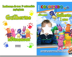 Revista de Colorir Backyardigans