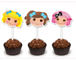 Toppers recorte especial: Lalaloopsy