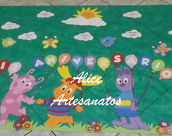 Painel Decorativo Infantil Backyardigans