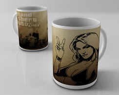 Caneca GTA 5 GTA V video game