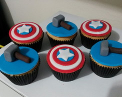 Cupcake Personalizado Super Her�is