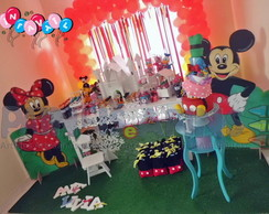 Turma do Mickey - Decora��o Proven�al