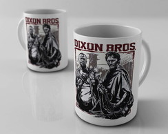 Caneca The Walking Dead - Dixon Brothers