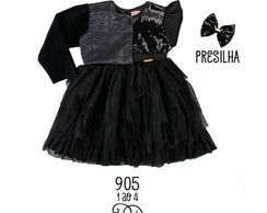 Vestido Black Chic Princess Ref.:902