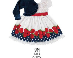 Vestido Princess Strawberry Ref.:911