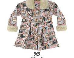Vestido Cute Dog Princess Ref.:969